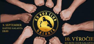10. výročie KO BOX Club - galavečer