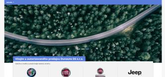 Nové webové stránky FCA
