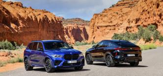 Nové BMW X5 M a BMW X5 M Competition. Nové BMW X6 M a BMW X6 M Competition.