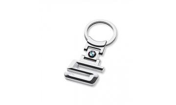 Kľúčenka s číslom rady 5 a logom BMW