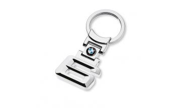 Kľúčenka s číslom rady 6 a logom BMW