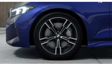 Kľúčenka s číslom rady 7 a logom BMW