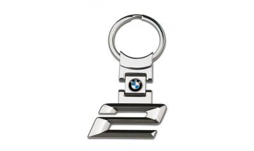 Kľúčenka s číslom rady 2 a logom BMW