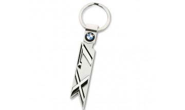 Kľúčenka s číslom rady X7 a logom BMW