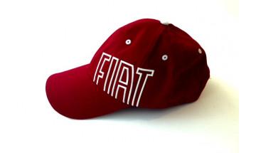 Šiltovka - červená, Fiat
