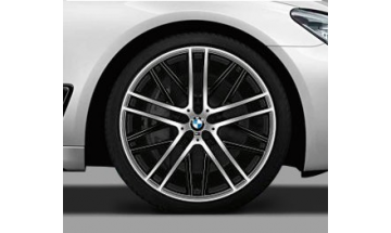 M Performance Double Spoke black 650M - pre BMW 7 radu ( G11/G12 )